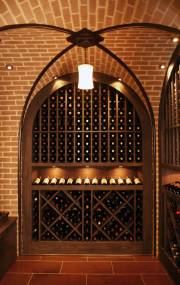 Wine cellar photography