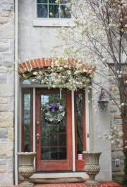Front door arch