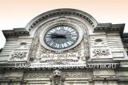 Paris clock tower
