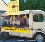 Lavender truck